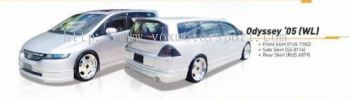 honda oddysey rb1 bodykit wald style add on upgrade performance look frp material new set
