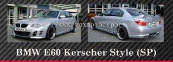 bmw e60 5 series bodykit kerscher style for e60 replace upgrade performance look frp material new set