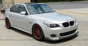 bmw e60 5 series front diffuser hartge style for m5 bumper add on upgrade performance look pp material new set