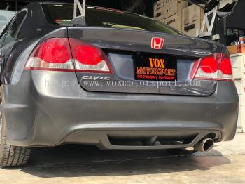 2006 2007 2008 2009 2010 2011 honda civic fd4 bodykit type r rear bumper for civic fd4 replace upgrade performance look pp copy ori material new set