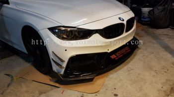Bmw f30 front Bumper replace upgrade Performance look frp Material new set