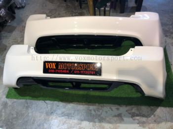 2006 2007 2008 2009 2010 2011 honda civic fd fd1 fd2 type r rear bumper copy ori with diffuser for fd replace add on upgrade performance look pp material new set