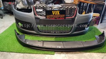 2005 2006 2007 2008 2009 volkswagen golf mk5 gti bodykit votex front lip diffuser for golf mk5 gti add on upgrade performance look pp abs material new set