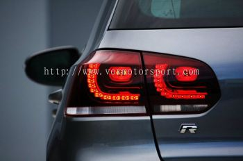 volkswagen golf gti led taillamp r20