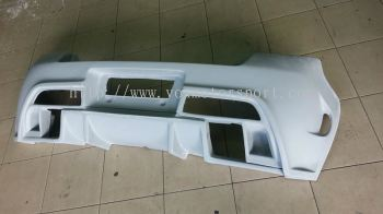 suzuki swift  bodykit tm square bumper rear