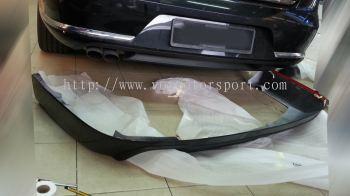 volkswagen passat b7 bumper rear lip bodykit vox style