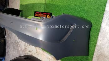 mercedes benz cla w117 rear bumper amg cla45 style replace upgrade performance look pp material new set