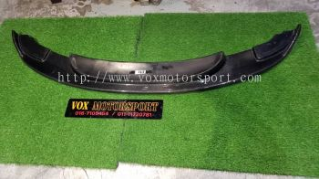 bmw e92 front lip diffuser hamann m3 style real carbon fiber material new set