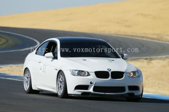 bmw e92 front bumper m3 style replace upgrade performance look pp material new set