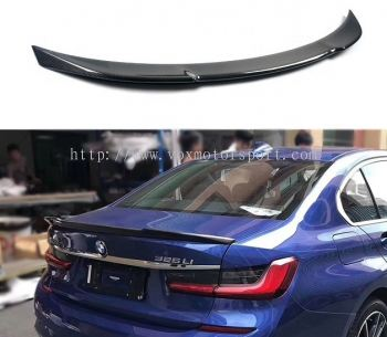 bmw 3 series g20 spoiler cs style add on upgrade performance look carbon fiber material brand new set