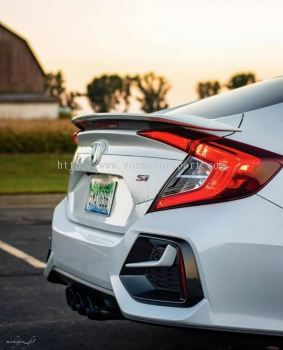 si rear bumper pp fit for honda civic fc replace upgrade performance look brand new set