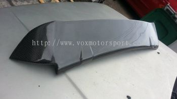 2008 2009 2010 2011 honda jazz fit ge spoiler rs for ge add on upgrade performance look real carbon fiber material new set