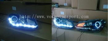 GOLF GTI AUDI LOOK PROJECTOR LAMP