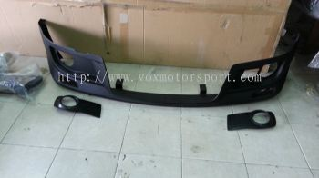 suzuki swift zc31s monster style front lip for sport bumper add on monster performance look frp material new set