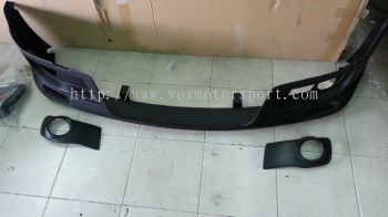 suzuki swift zc31s monster front lip for sport bumper add on monster performance look frp material new set