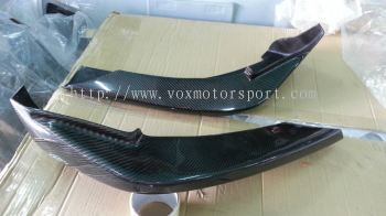 2005 2006 2007 2008 2009 2010 2011 suzuki swift sport zc31s front lip diffuser hks kansai style for swift sport add on upgrade hks kansai style performance look real carbon fiber material new set
