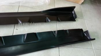 SUZUKI SWIFT SIDE SKIRT ADD ON SHORIN