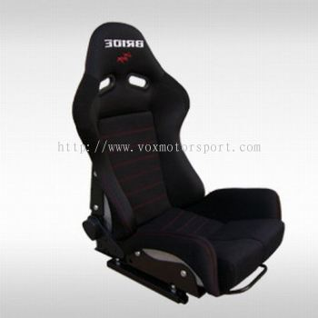 Bride GIAS Hybrid Racing Seat - Black (Low Max)