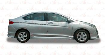 2014 HONDA CITY  SIDE SKIRTING LIP ON AM STYLE