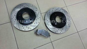 mitsubishi lancer ex gt brake rotor disc