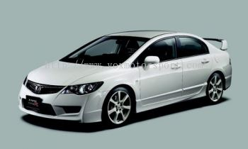 honda civic fd bodykit type R bumper convertion pp full set
