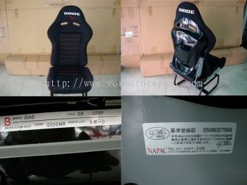 bride gias lowmax sport seat black edition