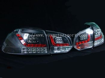 for sale volkswagen golf gti mk6 tail light led type r black housing
