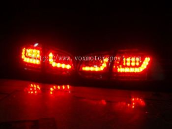 volkswagen golf gti mk6 tail light led type r