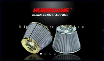 HURRICANE Stainless Steel Air Filter Unique Style designs