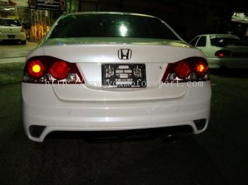 honda civic FD2 bodykit bumper rear ings