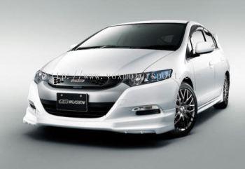Honda insight bodykit mugen bumper front lip on front