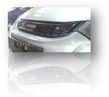 honda insight mugen bodykit bumper upper grille cover
