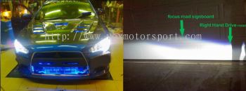 mitsubishi lancer gt evo x projector lamp with DRL CCFL