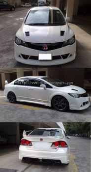 HONDA CIVIC FD MUGEN RR BODYKIT CONVERSION