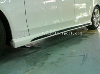 audi A4 B8 bodykit rieger side lip on