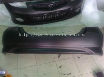 honda fit gd bodykit type s rear bumper