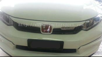 honda civic 2015 mugen grill abs