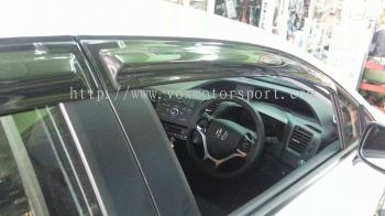 honda civic 2015 mugen door visor