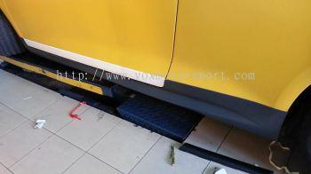 volkswagen scirocco side skirt r
