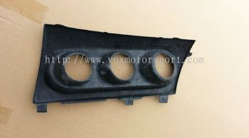 mitsubishi lancer gt meter gauge holder carbon