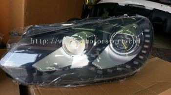 volkswagen golf 2010 1.4 mk6 headlamp led