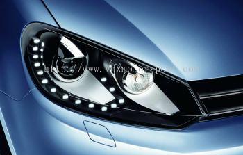 volkswagen golf mk6 1.4 headlamp led