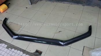 honda jazz ge 2013 rs bumper lip takero carbon