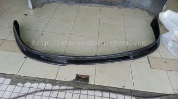 volkswagen golf mk5 abt bumper lip abt carbon fiber