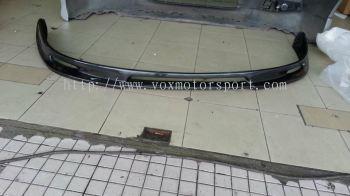 volkswagen golf mk5 bumper lip abt carbon fiber