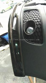 volkswagen golf mk5 bumper abt lip carbon fiber