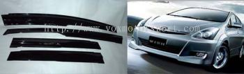 toyota wish mugen door visor