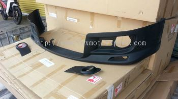 2005 2006 2007 suzuki swift sport zc31s monster style front lip for sport bumper add on monster performance look frp material new set
