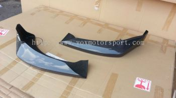 2005 2006 2007 2008 2009 2010 2011 suzuki swift sport zc31s hks front lip diffuser kansai style for swift sport add on upgrade hks kansai style performance look real carbon fiber material new set