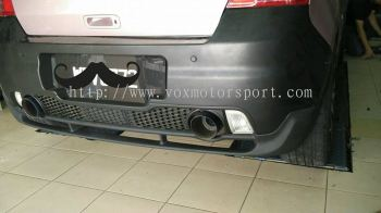 2005 2006 2007 suzuki swift sport zc31s monster style rear lip for swift sport bumper add on upgrade monster style performance look frp material new set